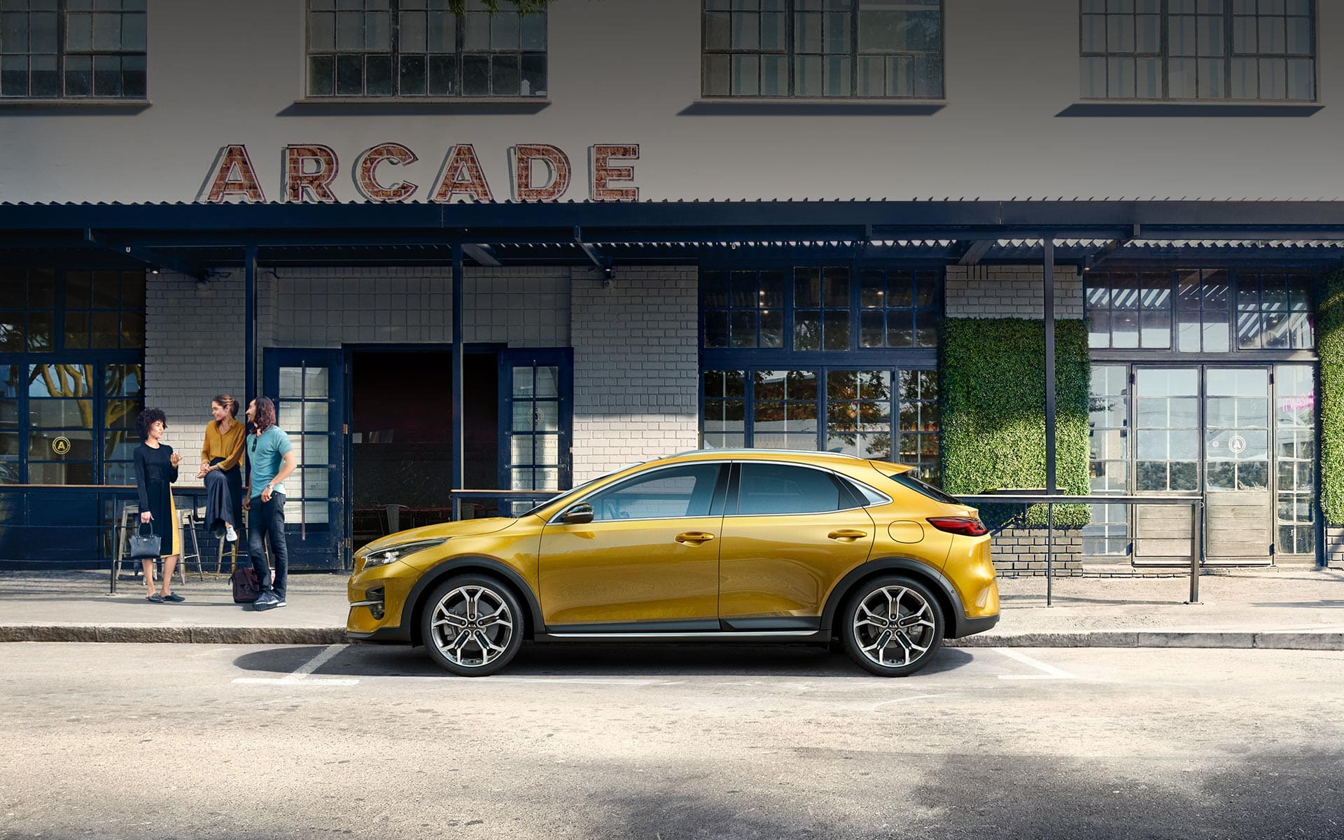 Kia XCeed Crossover Coupé Silhouette